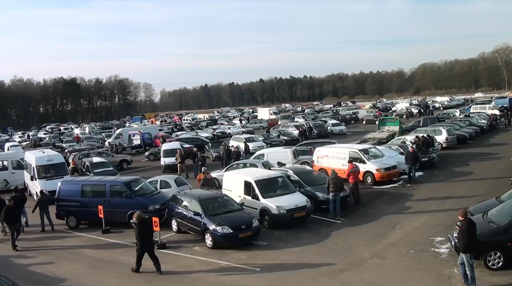meer dan 1000 autos wekelijks